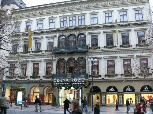 Cerna Ruze shopping mall Prague - shopping