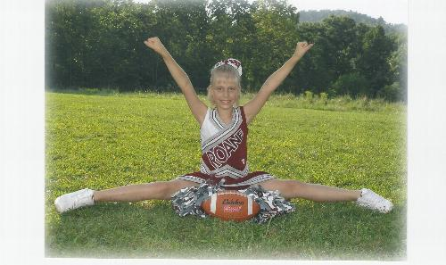 Kami - Roane County Raider Cheerleader