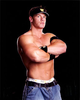 John Cena - Seriously injured and in need surgery, we won't see Cena for six to eight months. I think that stinks!
