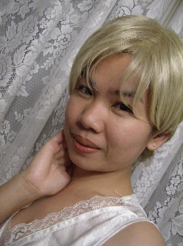 claire w/ blonde hair - this is claire with blonde hair, it's my new look :)LOL