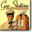 Gas Station - a picture of a gas station