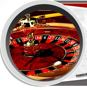 Roulette - A gambling game: the roulette