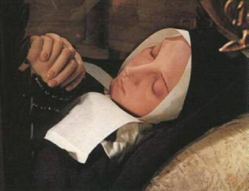 Saint Bernadette of Soubirous - incurruptible