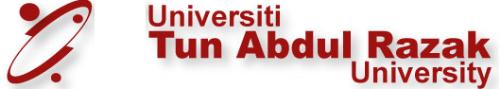 Tun Abdul Razak University Logo - This is the new University logo