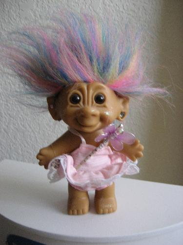 A Norwegian Troll - This is not the kind of troll that lurks in forums and causes trouble. This troll is ancient and was very popular before the internet had even been invented. If you rub this troll's hair your wish may come true. If your wish doesn't come true, at least you got to pet the cute little troll. How lucky can you get!