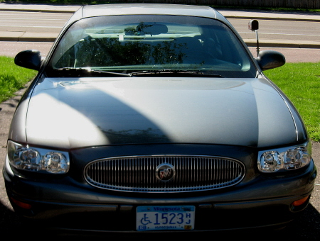 My Buick - My 2005 Buick LeSabre equipped with OnStar a live saving tool.