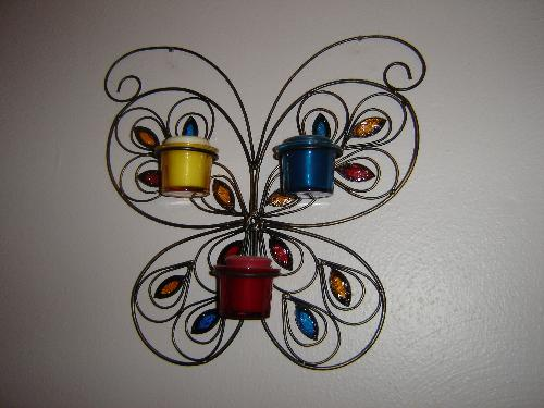 Butterfly Scounce - This livens up one room where I spend most of my time.