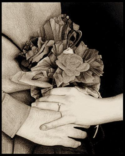 Wedding hands - Now and Forever