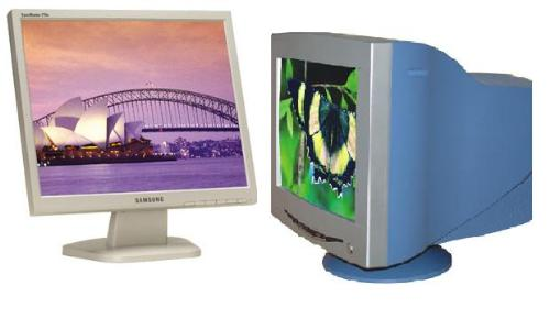 computer monitors - lcd vs crt