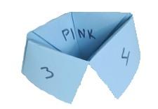Paper Fortune Teller - Origami paper fortune teller