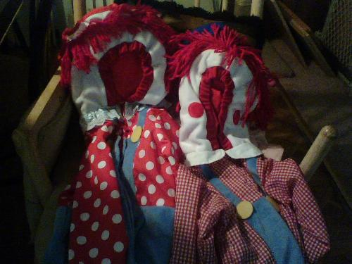 ragedyanne/andy for my twins,home made costumes - too cute for words