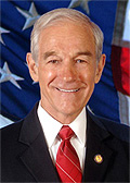 Ron Paul Official Photograph - This is the professional image of Ron Paul Republican Candidate 