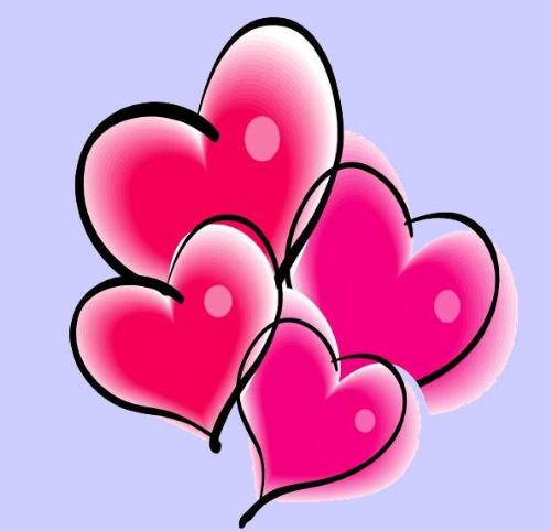 hearts - hearts are often used to symbolize love