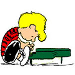 Schroeder from Peanuts - Schroeder playing his piano