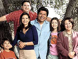 The cast of George Lopez