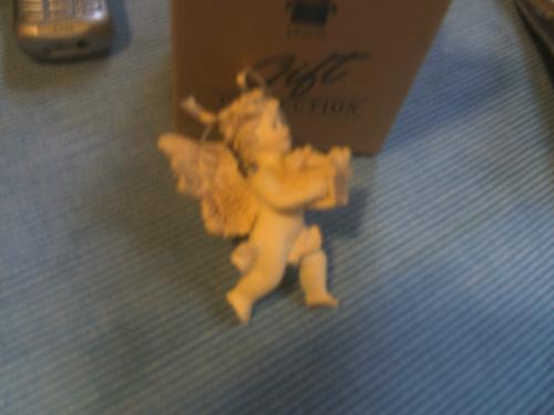 One of the cherub ornaments - cherub ornament