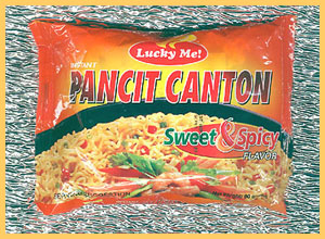 pancit canton - lucky me sweet and spicy pancit canton..
