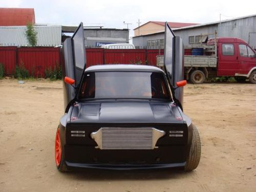 Lada Tuning Car - in picture is a Lada made in Russia.
