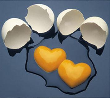 beautiful photo - what a beautiful photo. can you imagine? break two eggs into two beautiful hearts?
