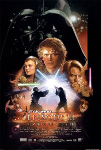 star wars 3 - movie poster