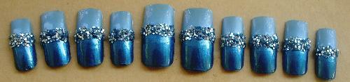 Nails - A set of my handpainted acrylic nails.