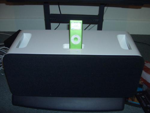 My ipod - my ipod and speaker dock.