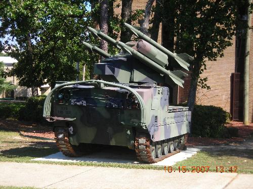 Army tank - I was recently visiting my boyfriend at his army base in North Carolina, and I saw this army tank. Is it just me, or does the site of seeing something like this come near you enough to make you surrender?