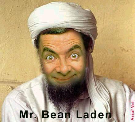 bin laden funny pictures. in , laden , bean , funny