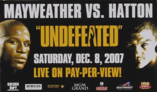 mayweather vs hatton - boxing