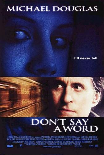this is the poster of don't way a word - i loved this movie because brittany murphy was in it and her best performance was in this movie!