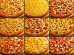 pizza with pineapple - Pizza with pineapple toppings,just love it .make them jucier