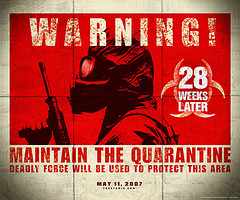 Movie : 28 Weeks Later - I love 28 Days Later/28 Weeks Later :)