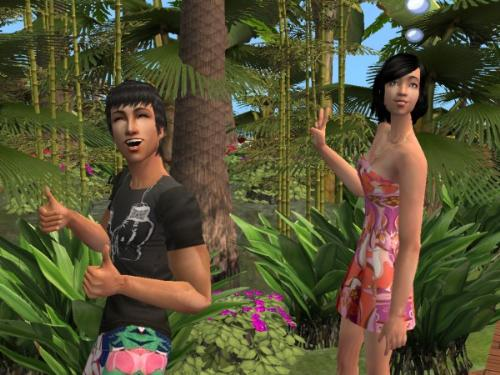 sims 2 - bon voyage - my sims on a vacation~
