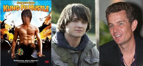 lead roles - Stephen Chow, Justin Chatwin, james marsters