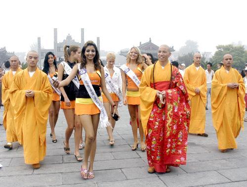 Shao lin - Shao lin temple and so many beaytiful girls