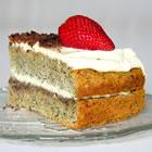cake -  Hungarian Flourless Hazelnut Cake