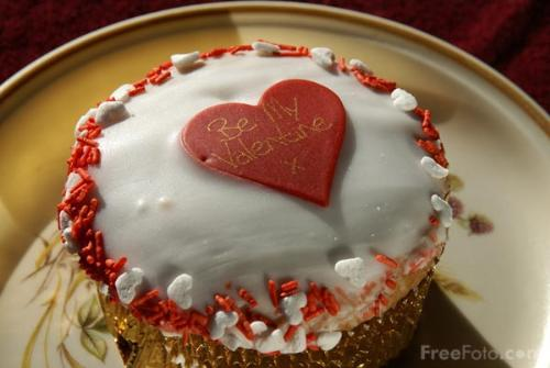 Valentine's Special cake - This shows a valentine's day cake