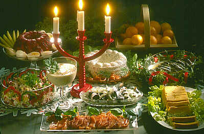 Christmas food - Due to be healthy and eat