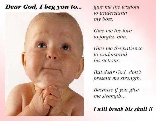 prayers - its prayer of junior to GOD for his success