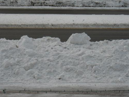 A Small Start - This is the start of the mountain season in front of my house/driveway