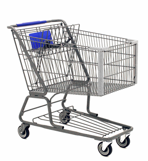 Will you buy from Amazon? - A picture of a shopping cart
