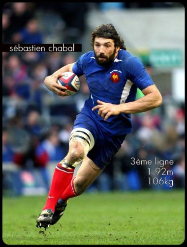 Sebastien Chabal - Sebastien Chabal is one of the most loved French rugby players of the moment.