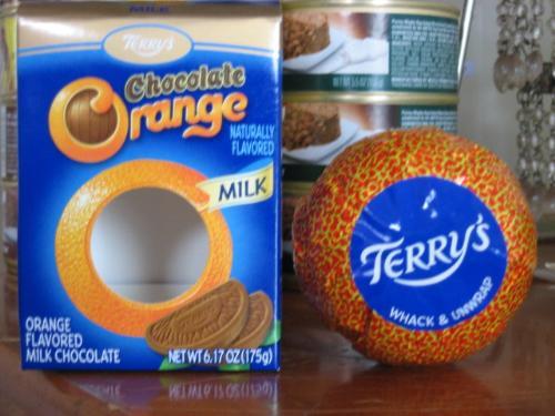 Terry's Chocolate Orange - Mine! All mine. HAHAHA!