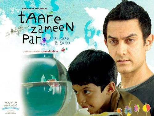 Taarey Zameen Per - Actor Aamir Khan's new Film, its about a child suffering from 'Dyslexia' & his relationship with the teacher played by Aamir.