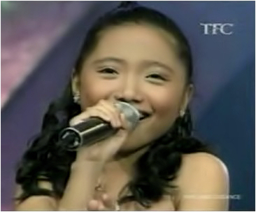 "charisse pempengco - she guest at ellen degeneres show... and sing ""am i am telling you"""