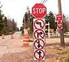 Stop sign - Confusing stop sign