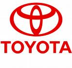 toyota logo - this is a caption for a toyota logo