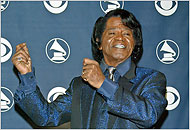 James Brown-singer - The Godfather of Soul, James Brown