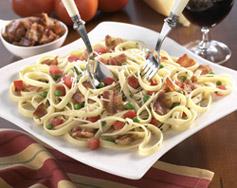 pasta - carbonara for new year