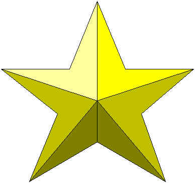 it is a star - this is a picture of a star. that is me.